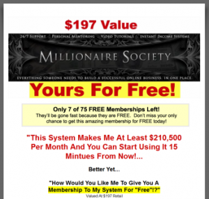 Domain Flipping Millionaire Society Logo image