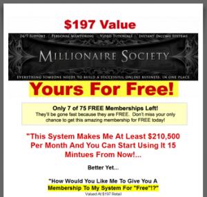 Millionaire Society Logo image