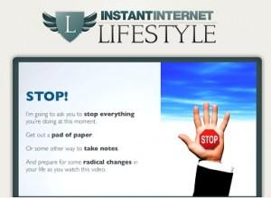 Instant Internet Lifestyle Logo image