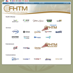 FHTM List of Products image