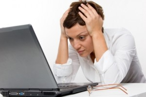 Frustrated Article Writer image