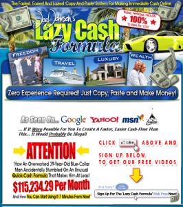 Lazy Cash Formula Logo image