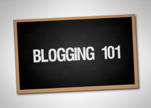 Blogging 101 image